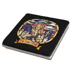 Our Lady of Slay - Coasters - Coasters - RIPT Apparel