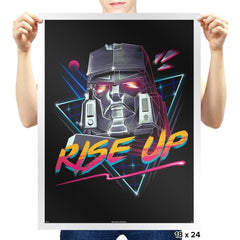 Rise Up - Prints - Posters - RIPT Apparel