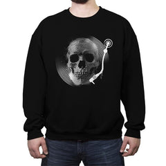 Death Tune - Crew Neck Sweatshirt - Crew Neck Sweatshirt - RIPT Apparel