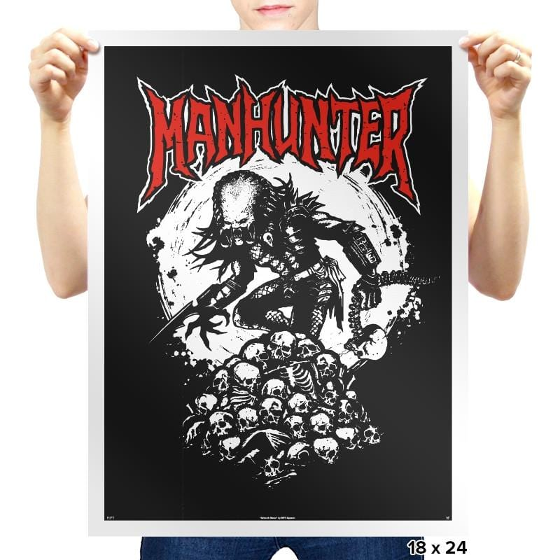 Manhunter - Heavy Metal Machine - Prints - Posters - RIPT Apparel