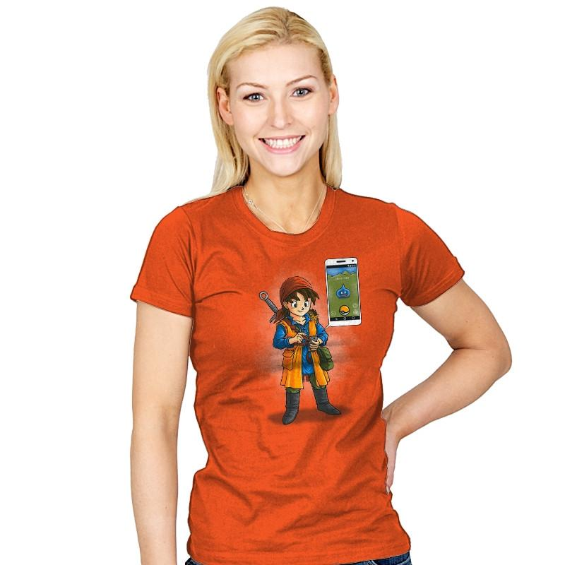 Dragon Quest Go - Pop Impressionism - Womens - T-Shirts - RIPT Apparel