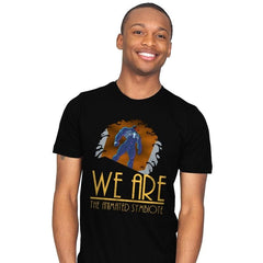 We Are Animated  - Mens - T-Shirts - RIPT Apparel