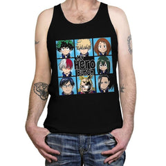 My Hero Bunch - Tanktop - Tanktop - RIPT Apparel