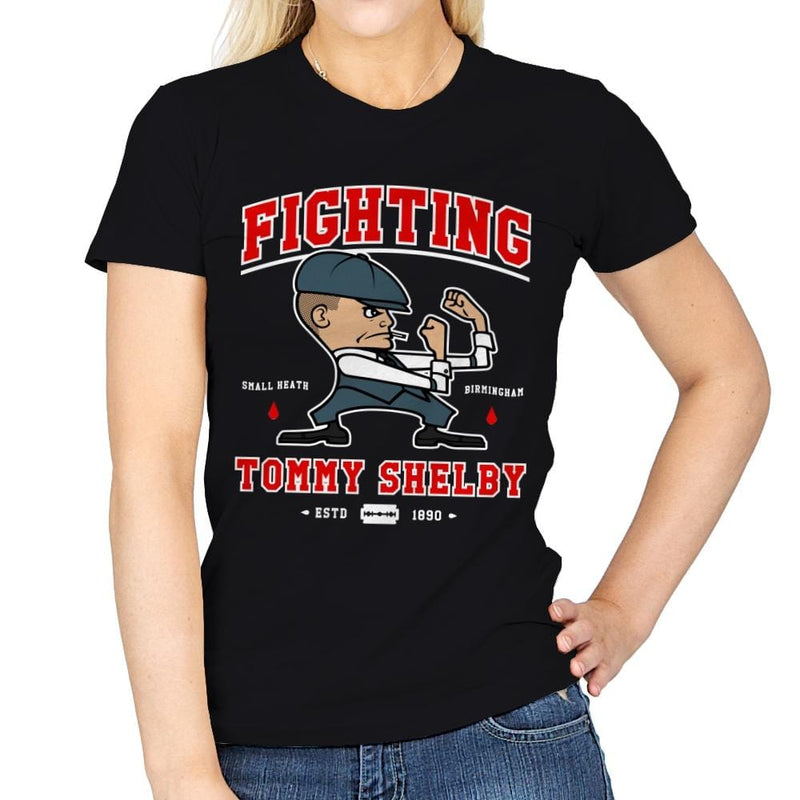 Fighting Shelby - Womens - T-Shirts - RIPT Apparel