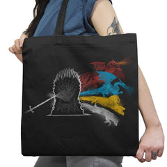 The Dark Side of the Throne - Game of Shirts - Tote Bag - Tote Bag - RIPT Apparel