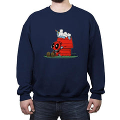 DEAD NUTS - Crew Neck Sweatshirt - Crew Neck Sweatshirt - RIPT Apparel
