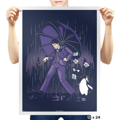 Salty Penguin - Prints - Posters - RIPT Apparel