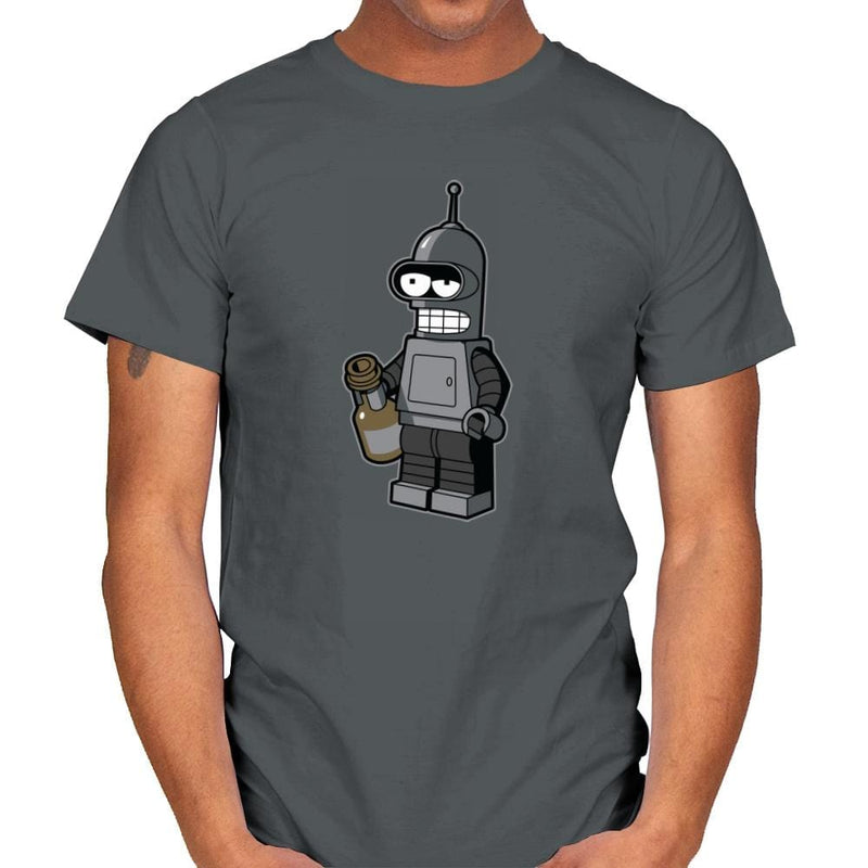Mini Bendingbot Exclusive - Brick Tees - Mens - T-Shirts - RIPT Apparel