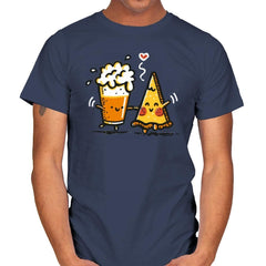 Beer and Pizza - Mens - T-Shirts - RIPT Apparel