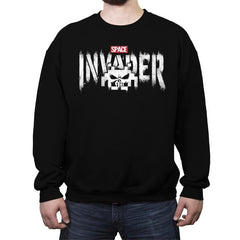 The Invader - Crew Neck Sweatshirt - Crew Neck Sweatshirt - RIPT Apparel