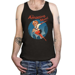 The Amazing Mom! - Tanktop - Tanktop - RIPT Apparel