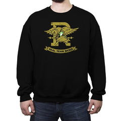 A Lab Coat of Arms Exclusive - Crew Neck Sweatshirt - Crew Neck Sweatshirt - RIPT Apparel