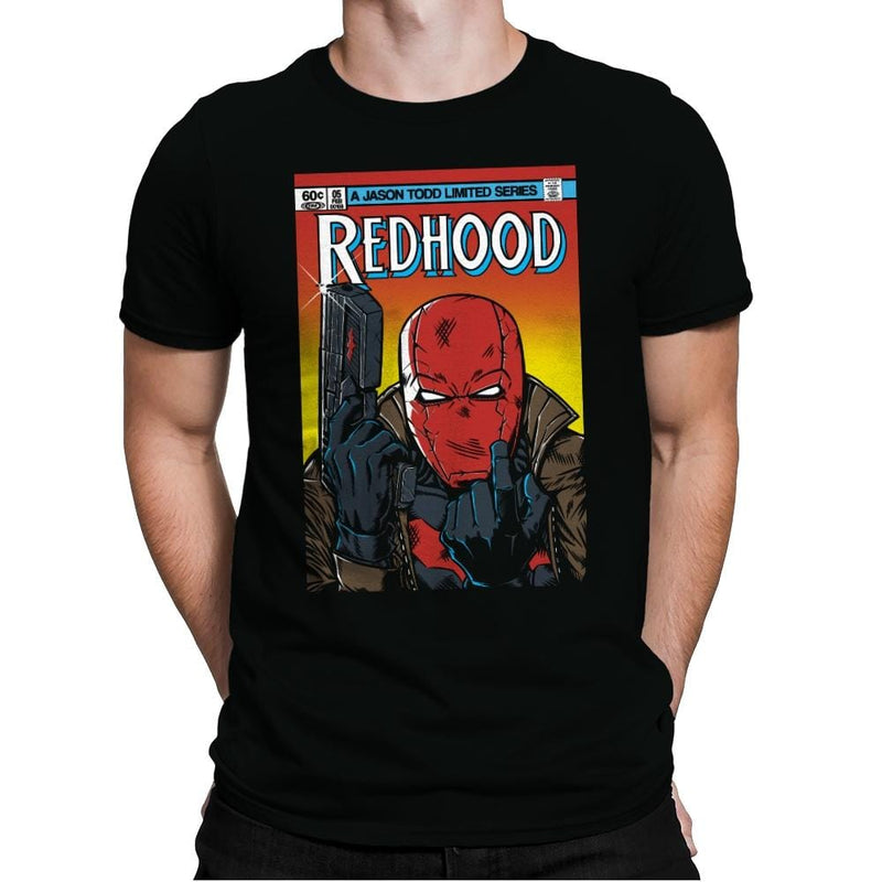Red Hood - Mens Premium - T-Shirts - RIPT Apparel