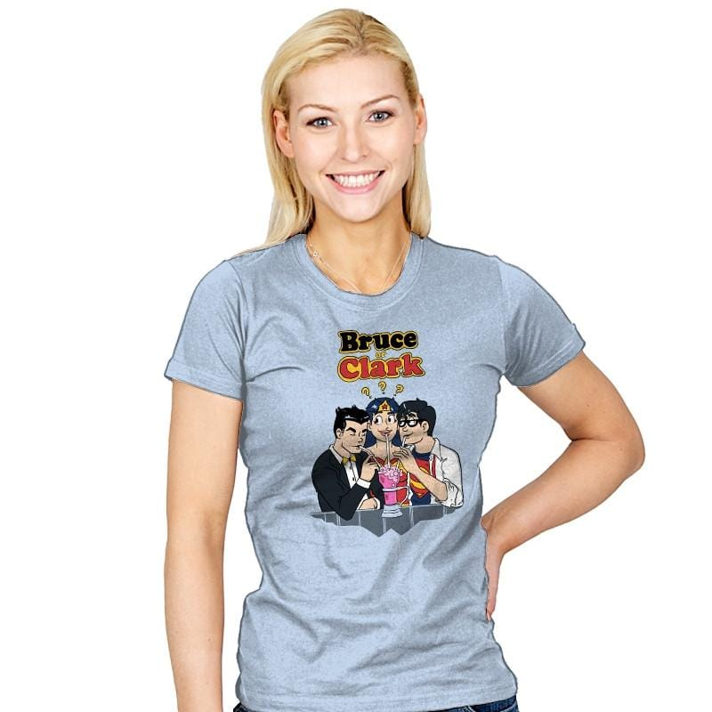 Bruce or Clark Exclusive - Womens - T-Shirts - RIPT Apparel