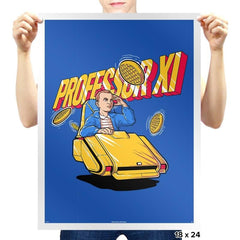 Professor XI - Prints - Posters - RIPT Apparel
