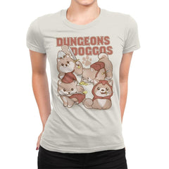 Dungeons & Doggos - Womens Premium - T-Shirts - RIPT Apparel