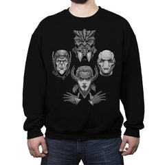Obsidian Rhapsody - Crew Neck Sweatshirt - Crew Neck Sweatshirt - RIPT Apparel