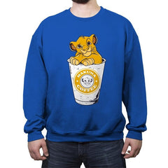 Hakuna Coffee - Crew Neck Sweatshirt - Crew Neck Sweatshirt - RIPT Apparel