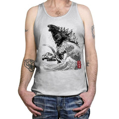 The Rise of Gojira - Tanktop - Tanktop - RIPT Apparel