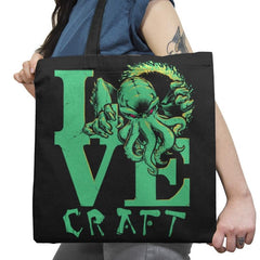 Cthulove Exclusive - Tote Bag - Tote Bag - RIPT Apparel