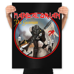 The Gunman - Prints - Posters - RIPT Apparel
