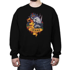 Digital courage - Crew Neck Sweatshirt - Crew Neck Sweatshirt - RIPT Apparel