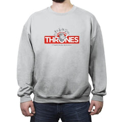 Thronopoly - Crew Neck Sweatshirt - Crew Neck Sweatshirt - RIPT Apparel