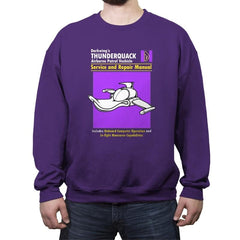 ThunderQuack Manual - Crew Neck Sweatshirt - Crew Neck Sweatshirt - RIPT Apparel