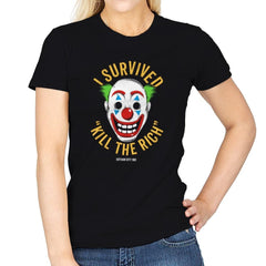 Kill The Rich Survivor - Womens - T-Shirts - RIPT Apparel