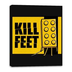 Kill Feet - Canvas Wraps - Canvas Wraps - RIPT Apparel