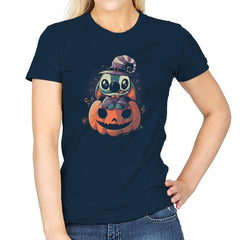 Ohana Pumpkin - Anytime - Womens - T-Shirts - RIPT Apparel