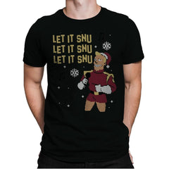 Let It Snu! - Ugly Holiday - Mens Premium - T-Shirts - RIPT Apparel