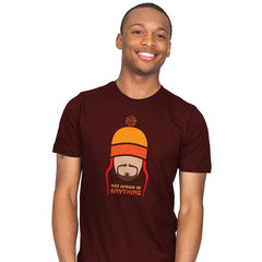 Not Afraid of Anything - Mens - T-Shirts - RIPT Apparel