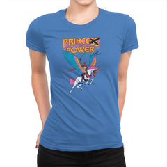 Prince of Power Exclusive - Womens Premium - T-Shirts - RIPT Apparel