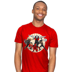 Ginyu-X-Force - Mens - T-Shirts - RIPT Apparel