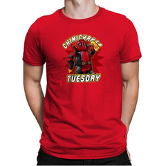 Chimichanga Tuesday Exclusive - Mens Premium - T-Shirts - RIPT Apparel