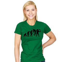 Evolution Dead End - Womens - T-Shirts - RIPT Apparel