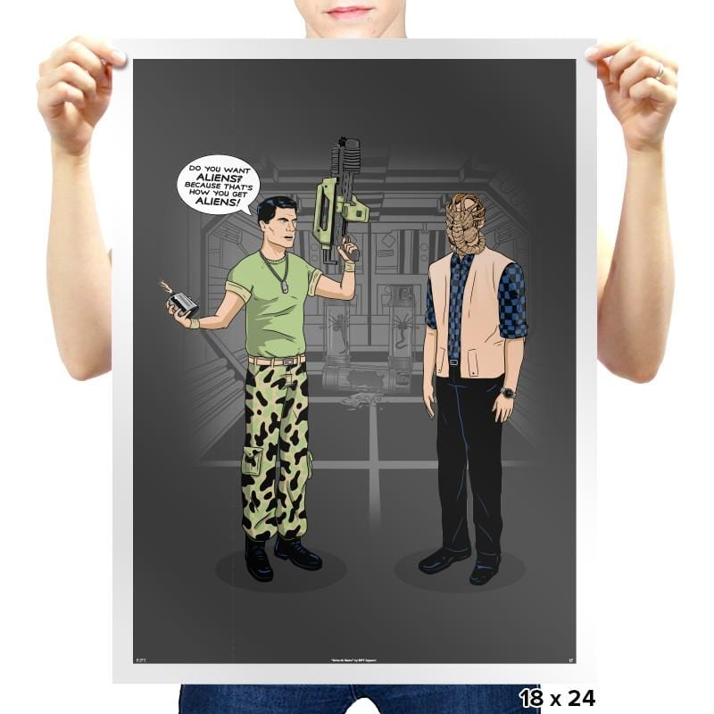 How You Get Aliens - Prints - Posters - RIPT Apparel