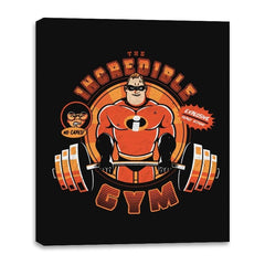 Incredible GYM - Canvas Wraps - Canvas Wraps - RIPT Apparel