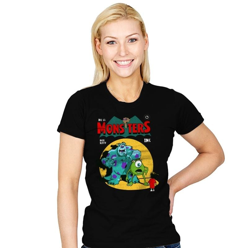 Monsters Comic - Womens - T-Shirts - RIPT Apparel