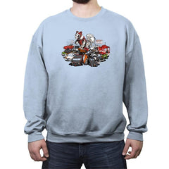 Raiders of the Lost Parts Reprint - Crew Neck Sweatshirt - Crew Neck Sweatshirt - RIPT Apparel