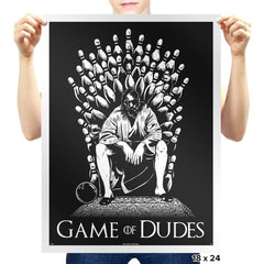 Game of Dudes - Prints - Posters - RIPT Apparel