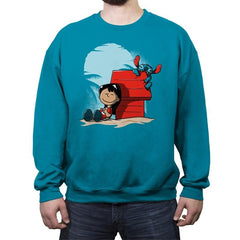 Friends of Aloha - Crew Neck Sweatshirt - Crew Neck Sweatshirt - RIPT Apparel