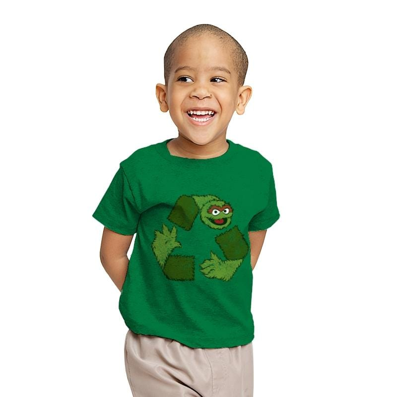 Oscar de Recycle - Youth - T-Shirts - RIPT Apparel