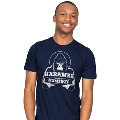 Harambe is my Homeboy - Mens - T-Shirts - RIPT Apparel
