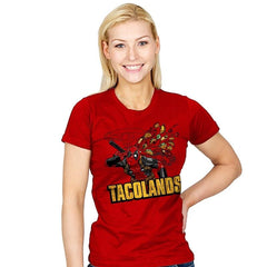 Tacolands - Womens - T-Shirts - RIPT Apparel