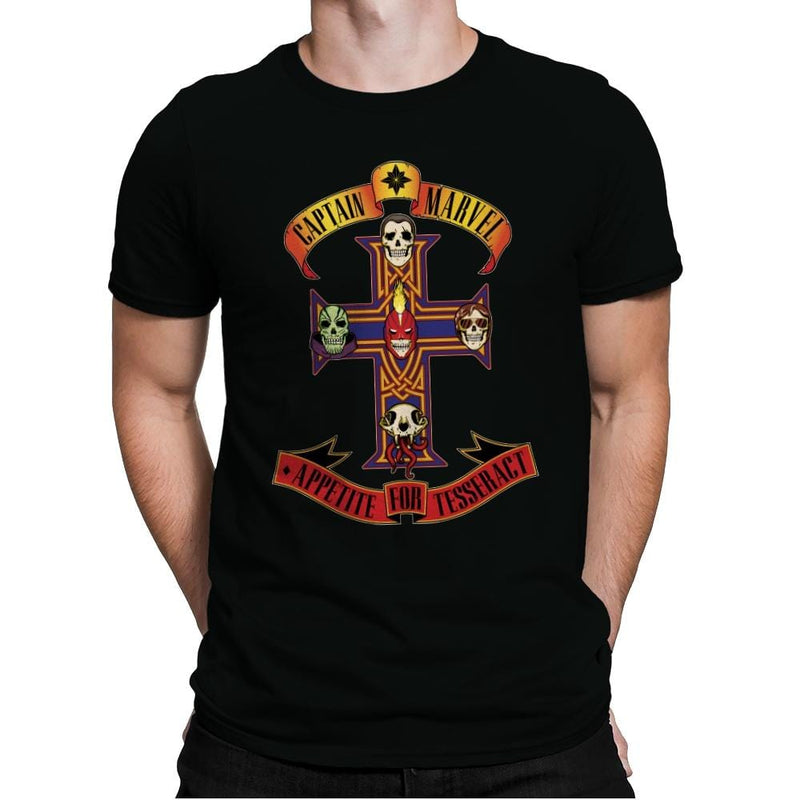 Appetite for Tesseract - Mens Premium - T-Shirts - RIPT Apparel