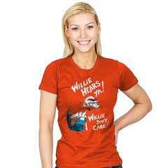 Who Cares? - Womens - T-Shirts - RIPT Apparel