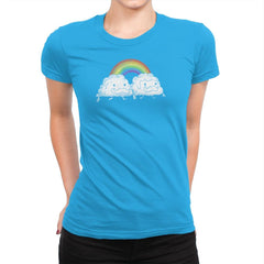 Gay Clouds - Pride - Womens Premium - T-Shirts - RIPT Apparel