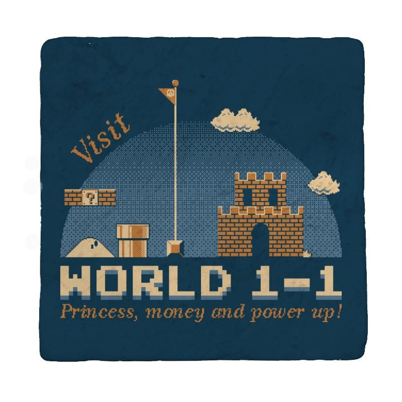 WORLD 1-1 - Coasters - Coasters - RIPT Apparel
